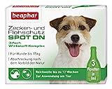 Zecken- und Flohschutz SPOT ON für Hunde bis 15