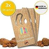 futeco® – Schlupfwespen gegen Lebensmittelmotten (3 Karten á 3 Lieferungen) – 100% Biologisch,...