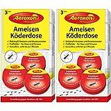 Aeroxon - Ameisenfalle, Ameisenköderdose - 6 Dosen - Bekämpft Das Ganze Ameisennest