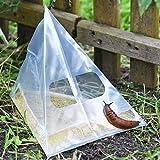 VOSS.garden 20x Schneckenfalle Slug Ex, Schnecken bekämpfen ohne Gift, Bierfalle,...