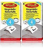 Aeroxon Ungeziefer Köder-Falle 8 Stück – zuverlässiges fangen von...