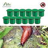 Gardigo Schnecken-Falle 12er Set I Bio Schneckenschutz für den Garten I Umweltfreundliche...
