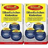 Aeroxon - Silberfisch-Köderdose - 6 Stück - Silberfische bekämpfen einfach...